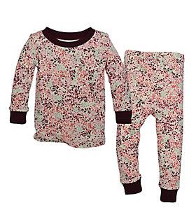 Kids Autumn Canopy Organic Cotton Pajamas