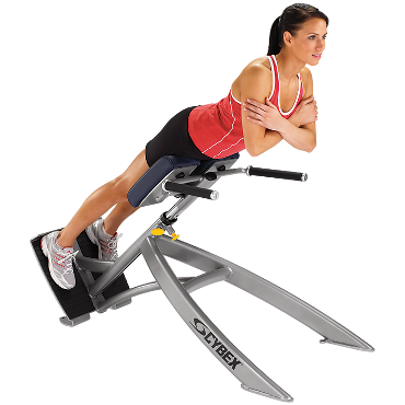 45° back extension  cybex