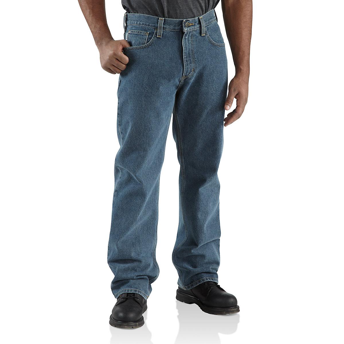 men 39 s loose original fit straight leg jean 100066 carhartt. Black Bedroom Furniture Sets. Home Design Ideas
