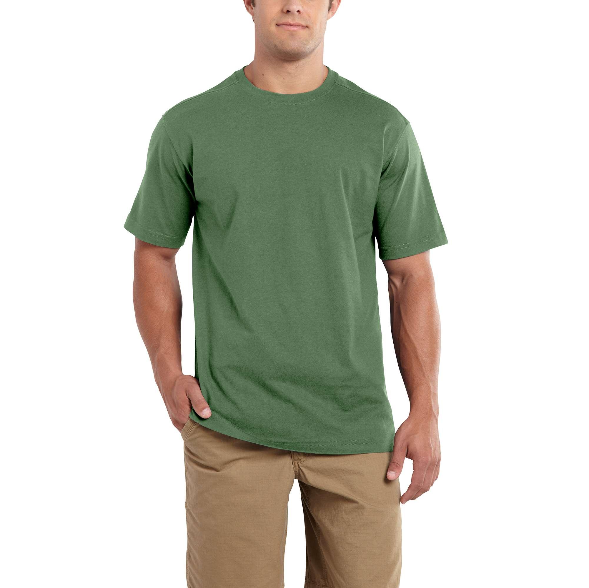 carhartt maddock non-pocket short-sleeve t-shirt herb xl