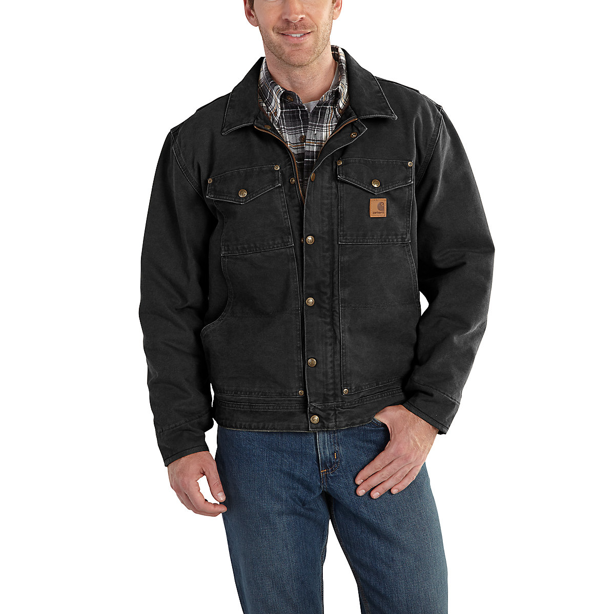 Men's Berwick Jacket / Fleece Lined 101230