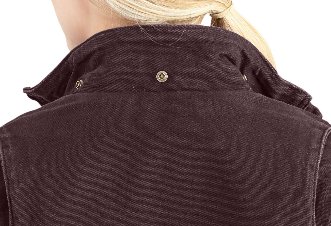 Detachable, adjustable sherpa-lined hood adds warmth