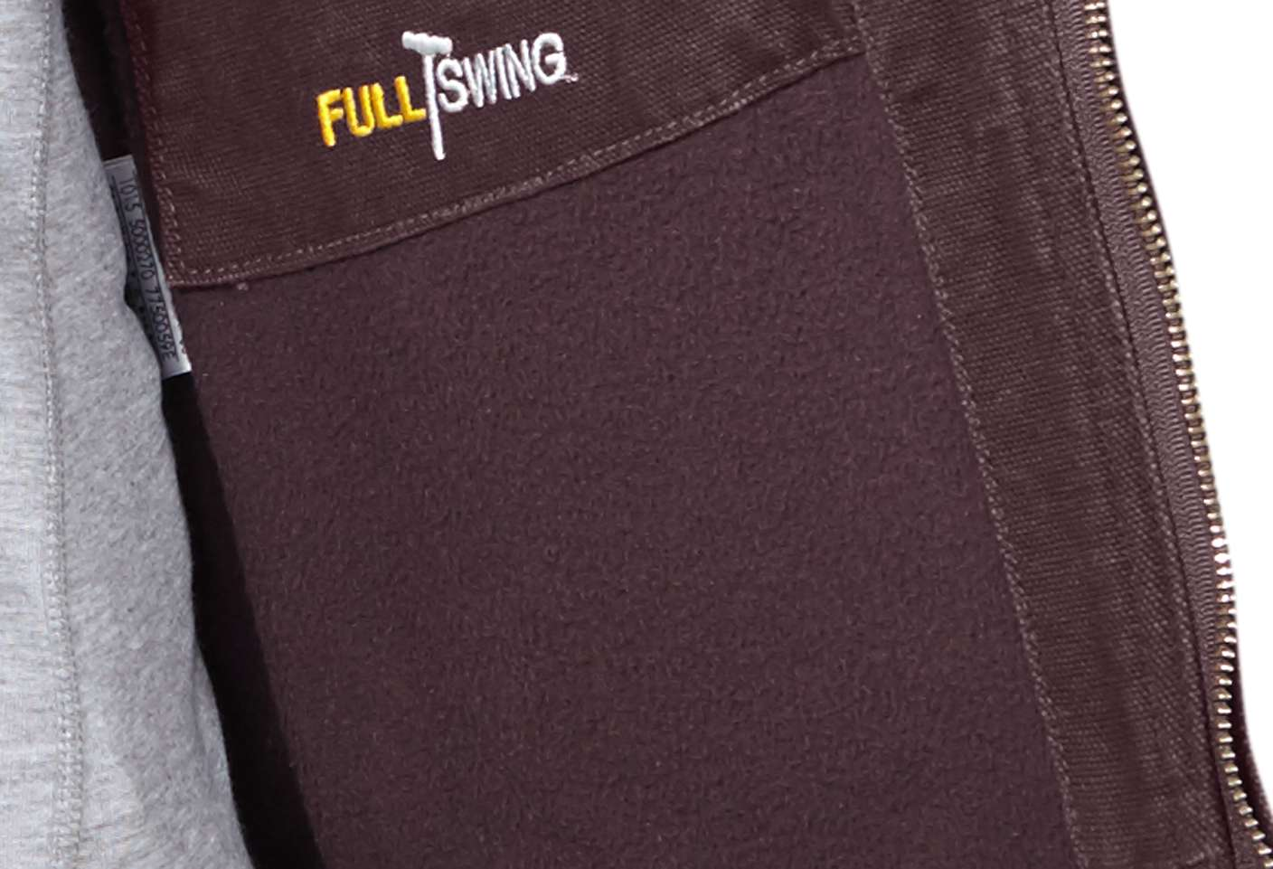 Smooth, quilted sleeve-lining for extra warmth