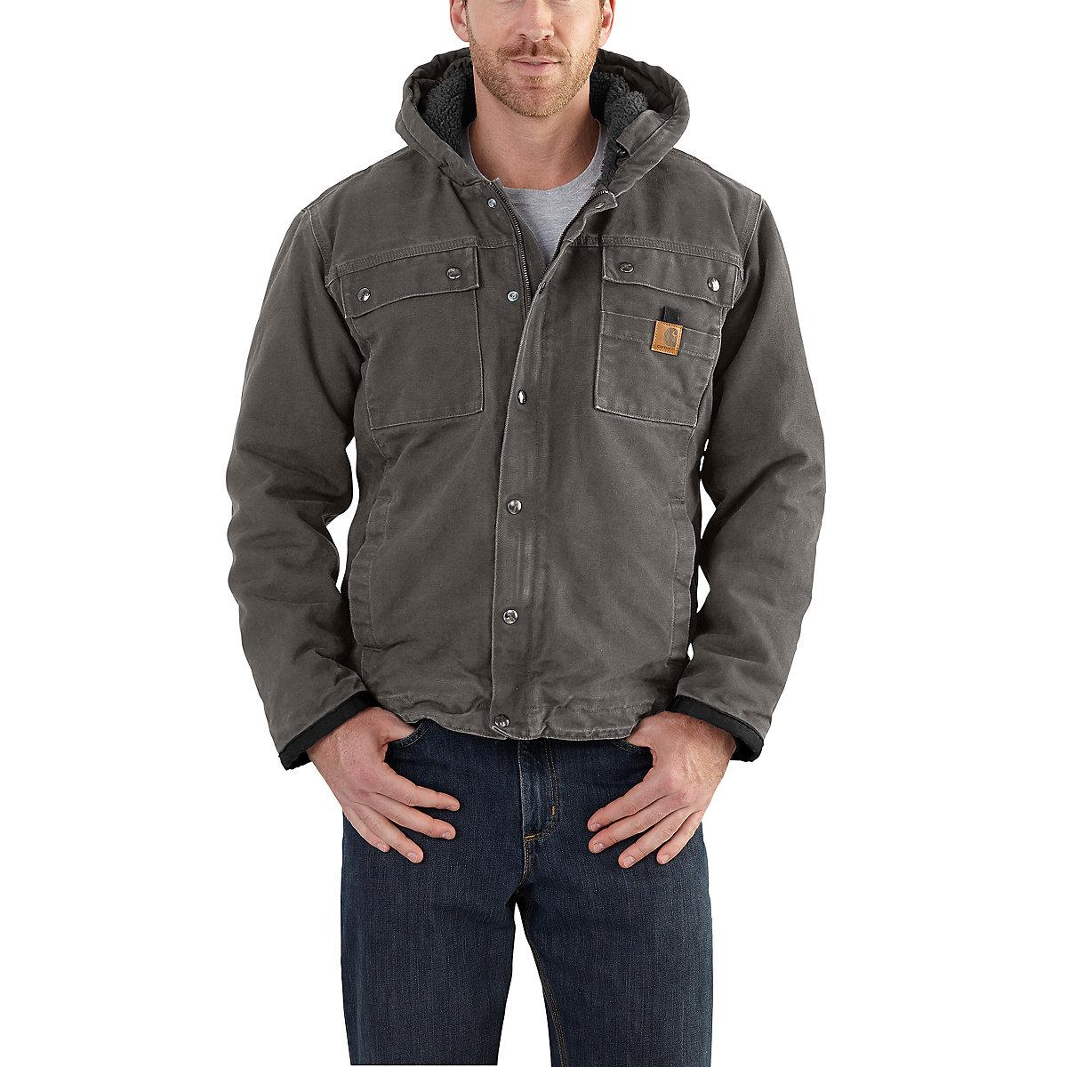 men 39 s bartlett jacket sherpa lined 102285 carhartt. Black Bedroom Furniture Sets. Home Design Ideas
