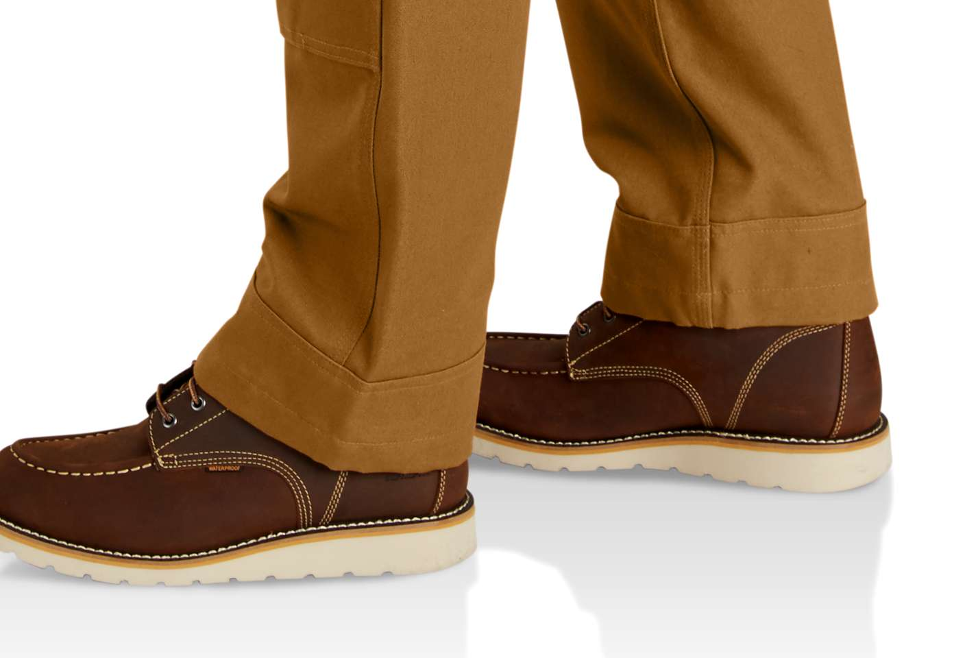 Kick panels around cuffs for extra durability