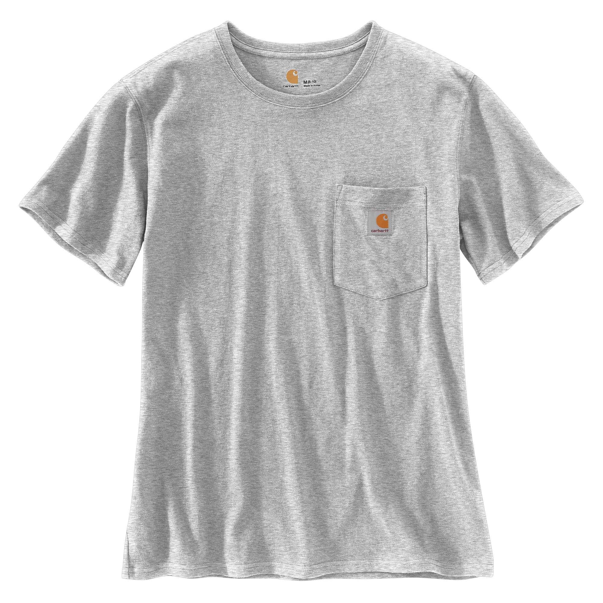 Women's Loose Fit Heavyweight Short-Sleeve Pocket T-Shirt
