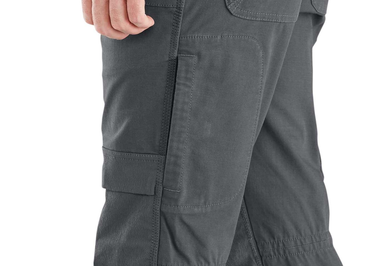 Side zip-pocket keeps phone or other gear secure