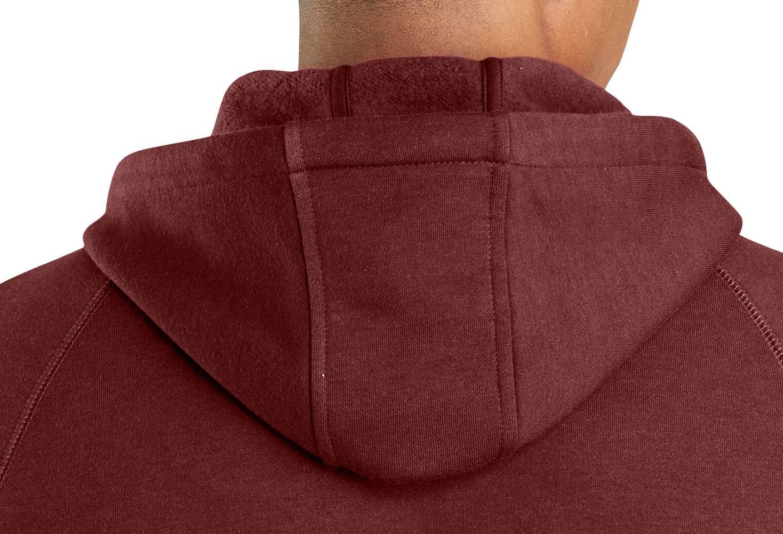Three-piece pullover hood fits well under headgear