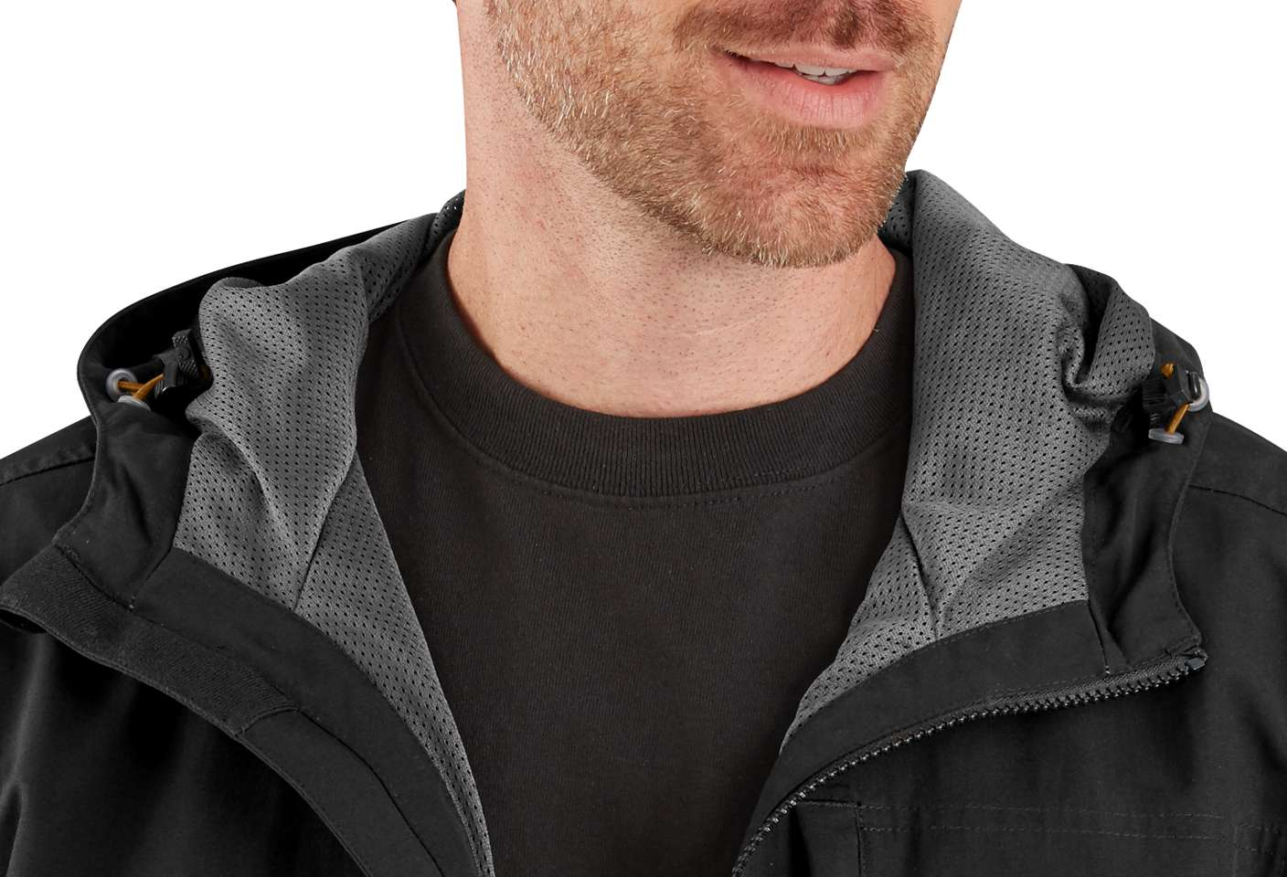 Hood volume adjuster ensures you find the perfect fit