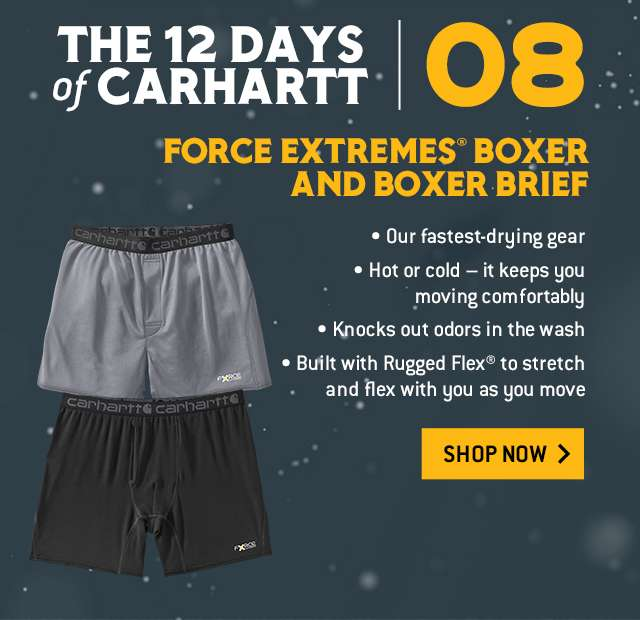 force extremes boxer and boxer brief,  protect your assets with our fastest drying, odor fights boxers and briefs