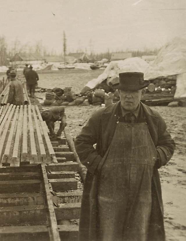 Ship Creek, Alaska, circa 1915 (Image courtesy of the Library of Congress)