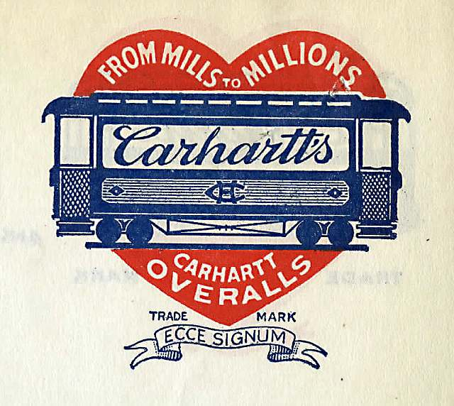 """Car in Heart"" logo, 1920s"