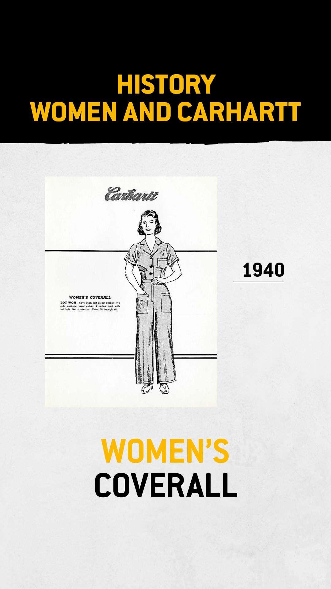 Dames coverall, jaren '40