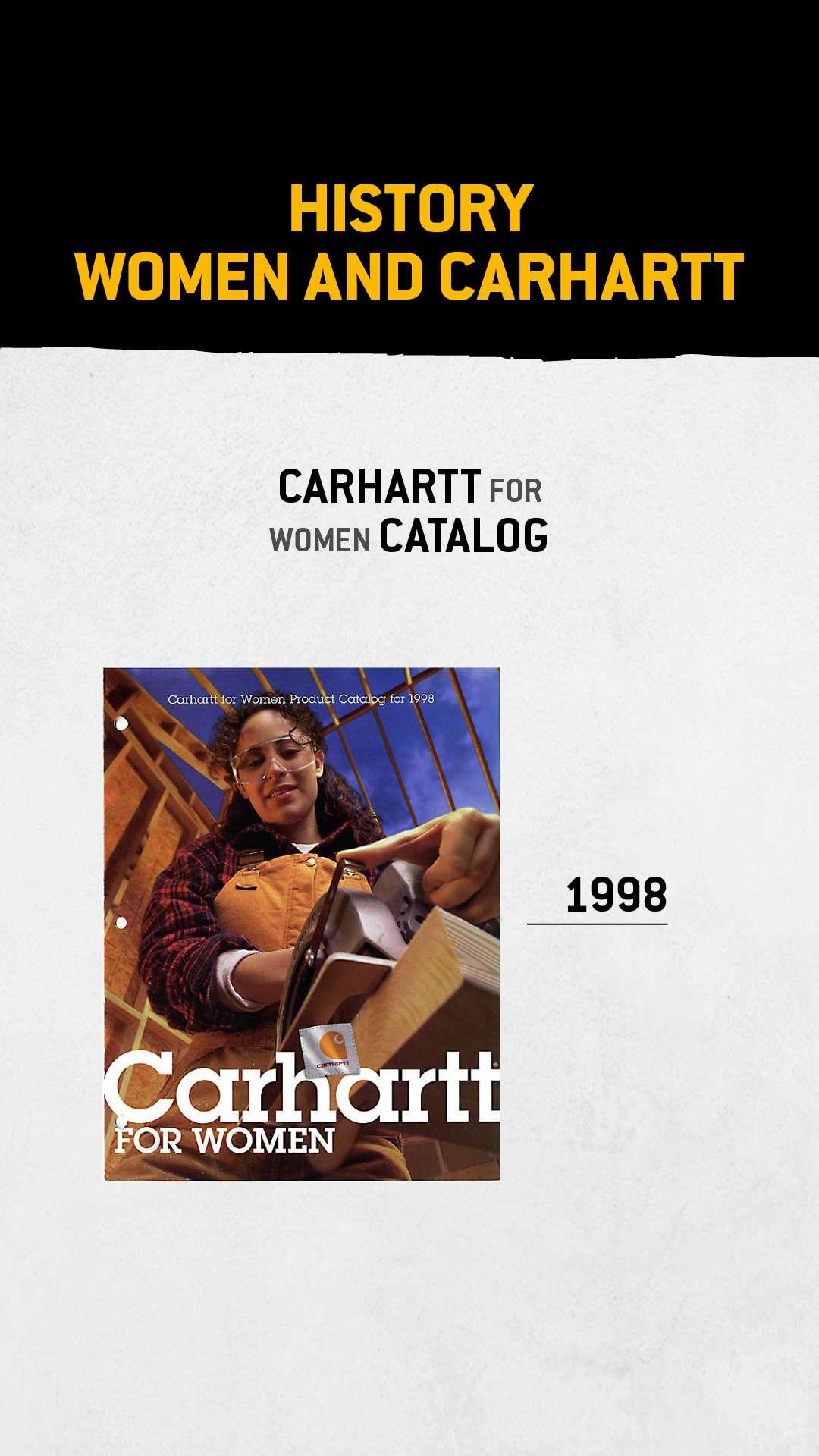 Carhart voor Dames catalogus, 1998