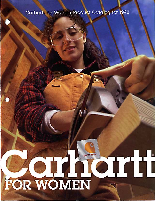 Carhartt for Women catalog, 1998