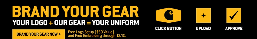 Brand Your Gear Now