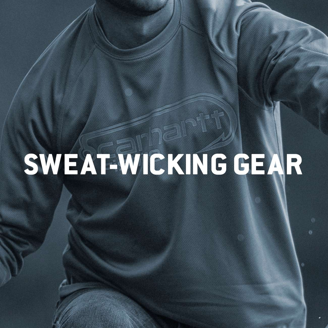 sweat-wicking gear