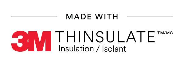 made with 3m thinsulate insulation