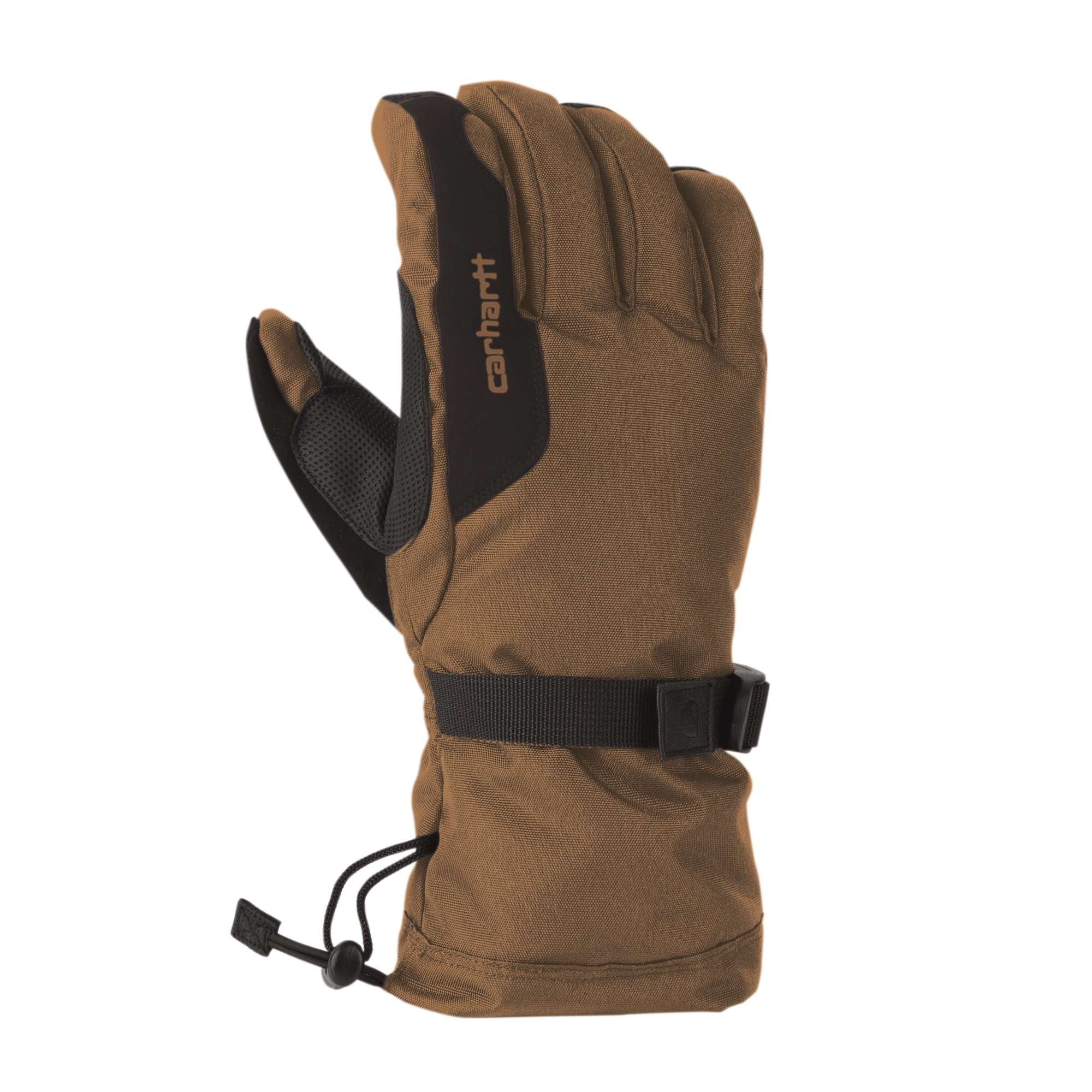 carhartt defrost glove heather grey/coal heather sm
