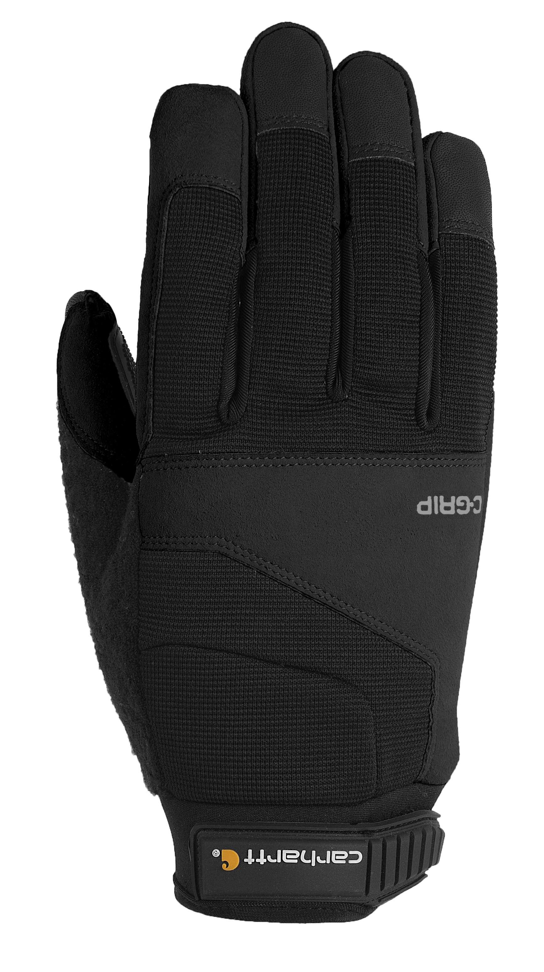 carhartt c-grip tri-grip glove black 2xl