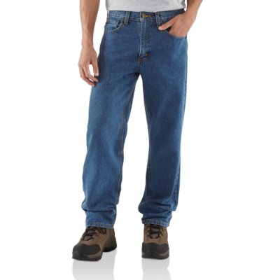 MEN'S RELAXED FIT JEAN - 38 inch tall inseam