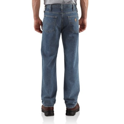 RELAXED-FIT STRAIGHT-LEG JEAN - 38 inch tall inseam