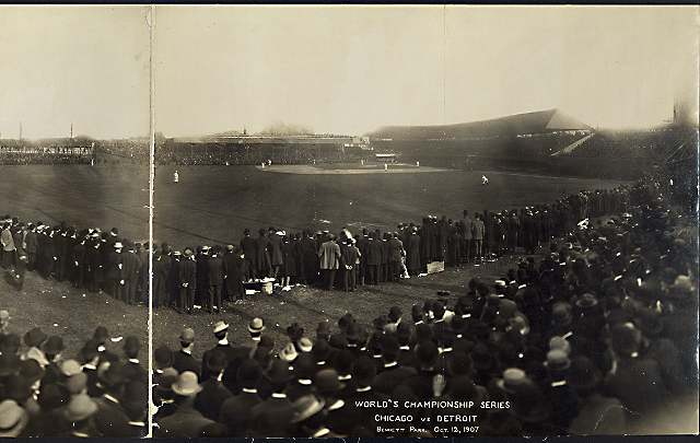 1907 World Series at Bennett Park (Library of Congress, Prints & Photographs Division)