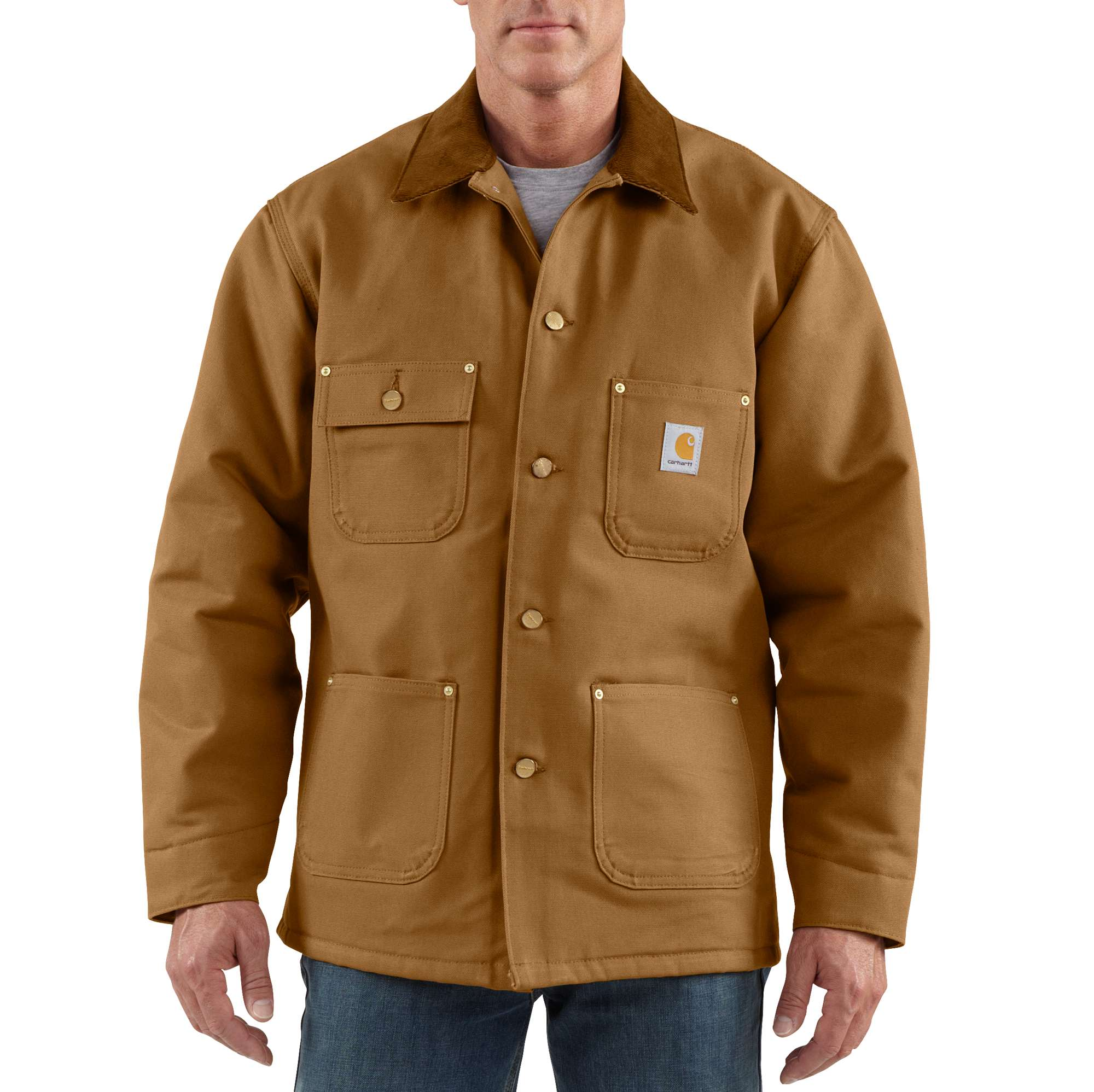 05aca4ef2d Men's Duck Blanket-Lined Chore Coat C001 | Carhartt