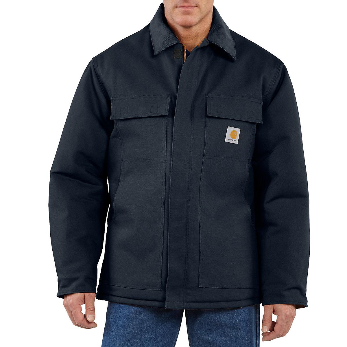 Men S Duck Traditional Coat Arctic Quilt Lined C003
