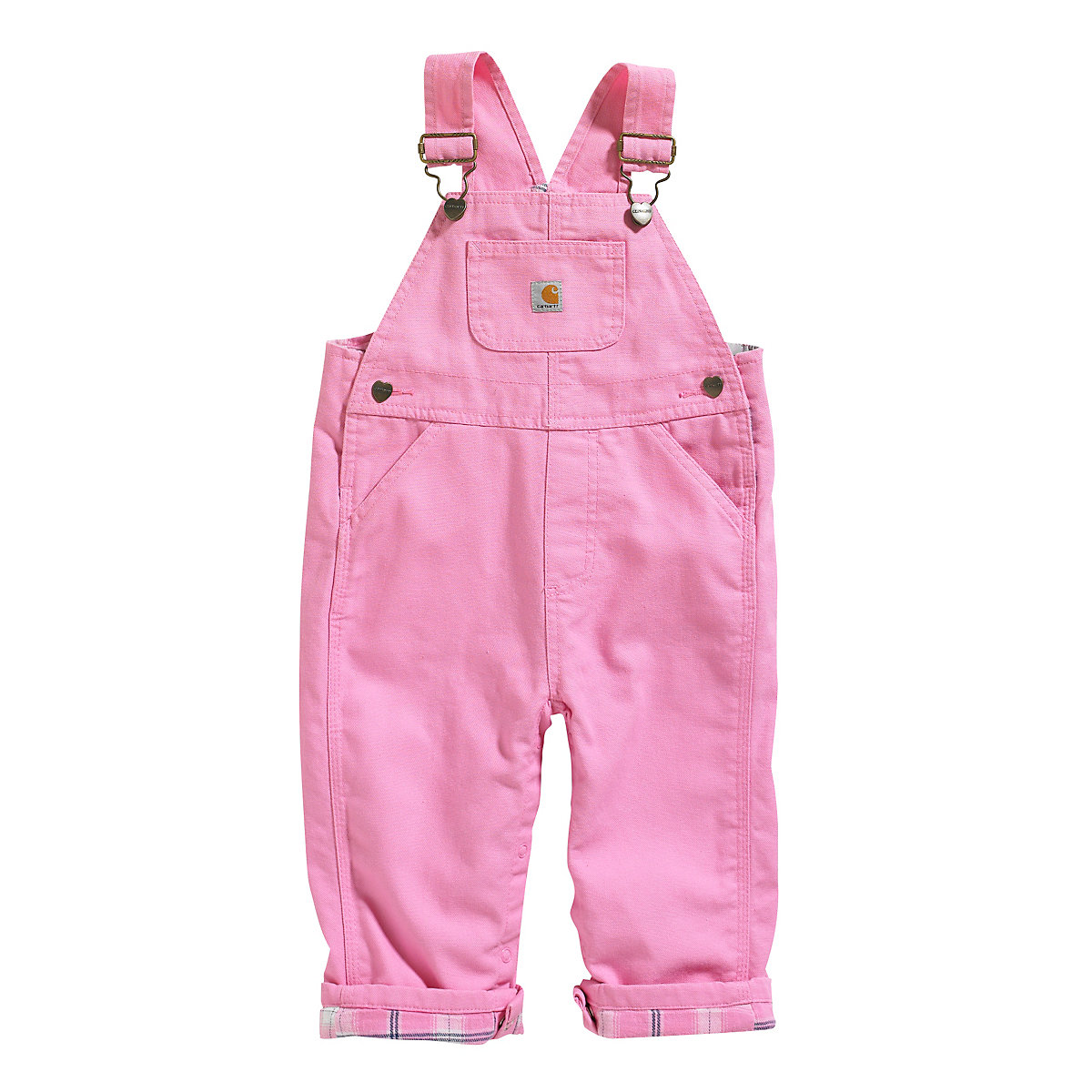 Cute pair of girls skinny stretch Blue Jean Bib overalls with factory fade and distress. 20