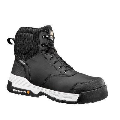 carhartt menu0027s blkblack carhartt force 6 inch work boot front