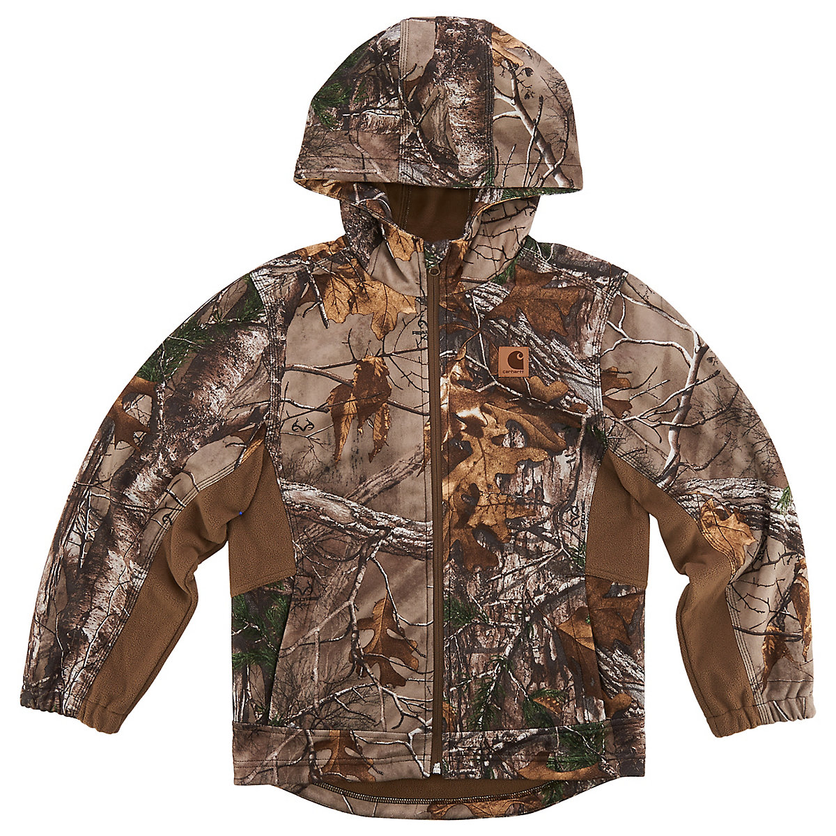 buckfield men This vest has many of the same features as the carhartt camo buckfield jacket - which can be layered over this vest for extra warmth men's, water repellent, soft shell hunting vest 97-ounce, 100% polyester.