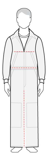 Coverall model