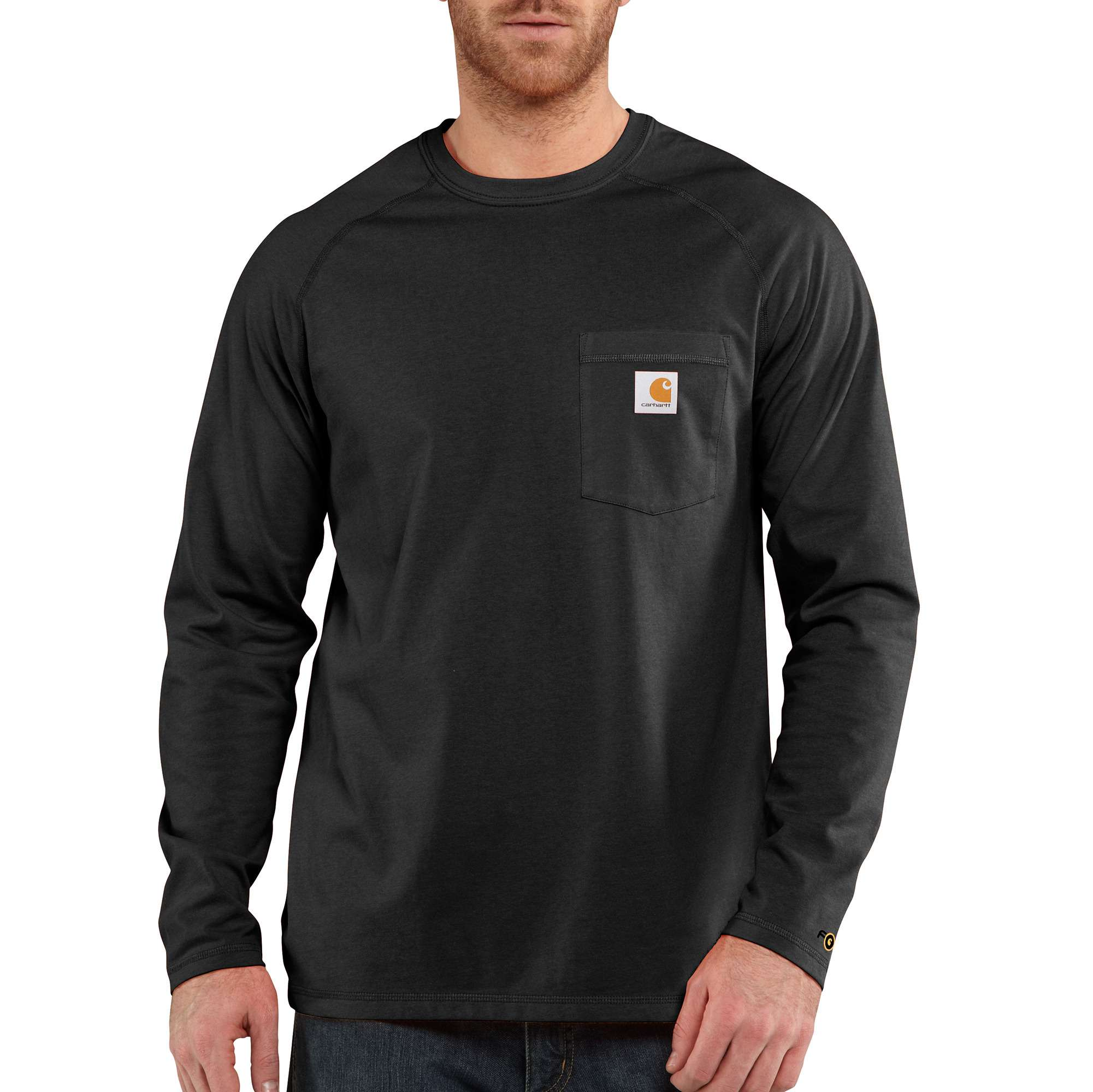 CARHARTT FORCE New Long Sleeve Black size XL Quick Dry /& Odor Resistant NEW!