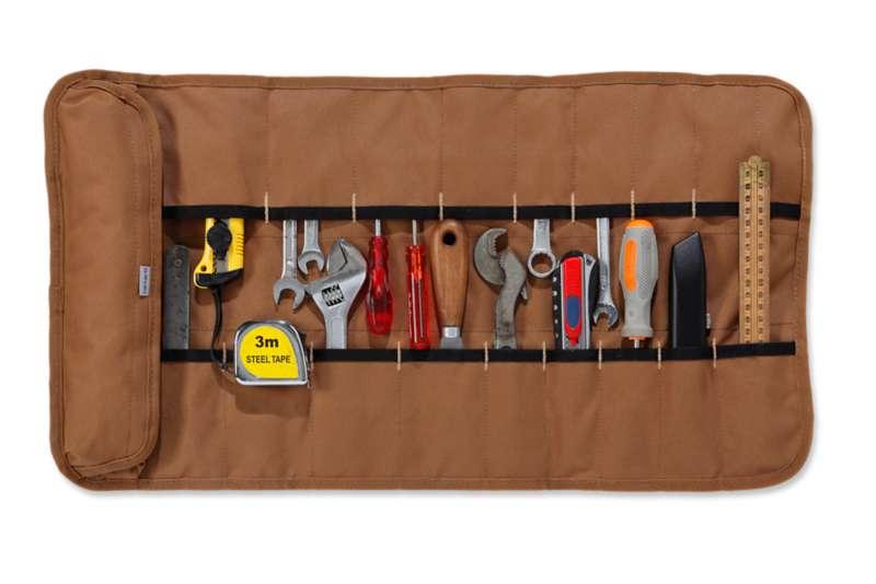 Carhartt® Brown Legacy Tool Roll Ofa i gruppen Reservdelar & Tillbehör / Väskor & Tillbehör / Övriga väskor hos Blixt&Dunder AB (100822brn-ofa)