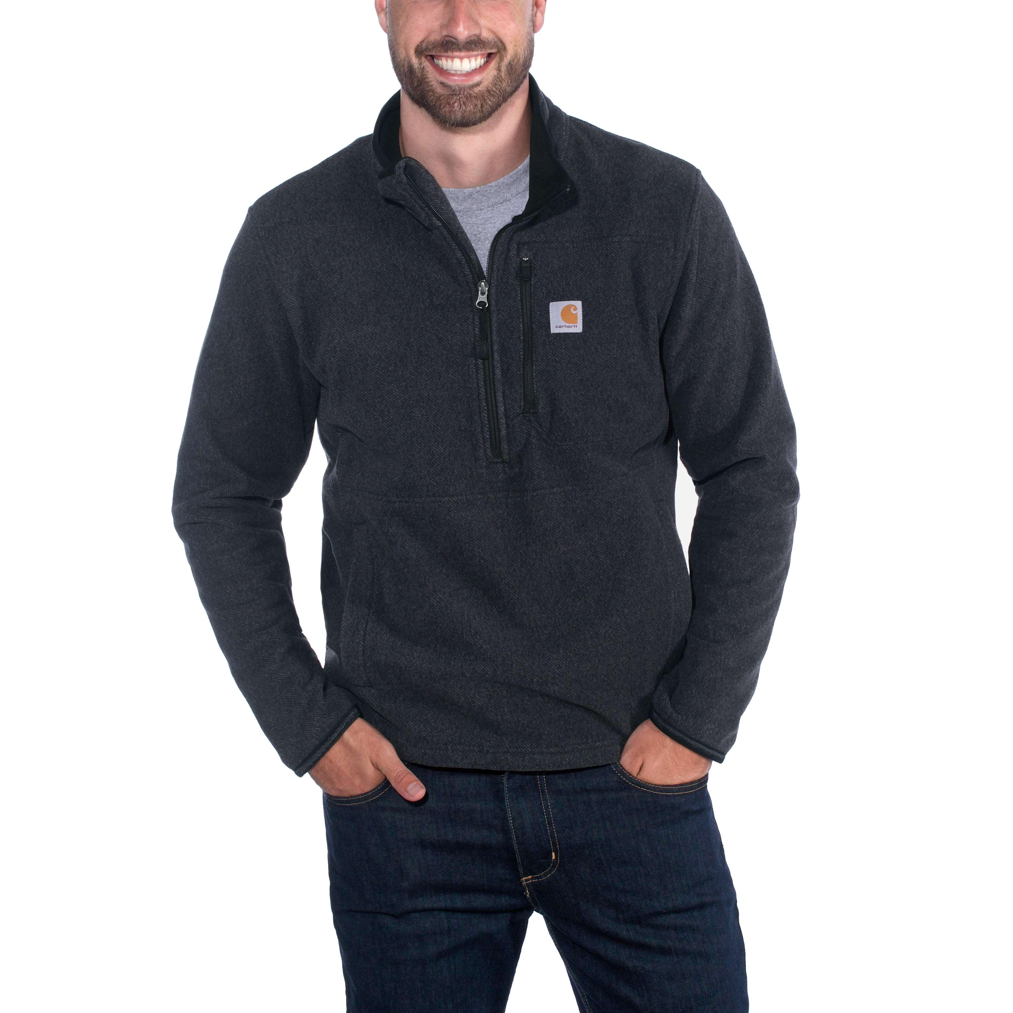 Carhartt Mens Dalton Full Zip Fleece Sweatshirt