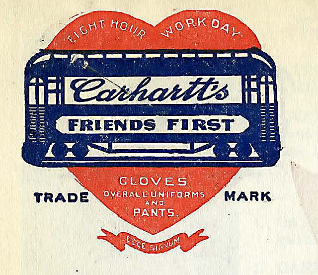 Eight Hour logo, 1920s