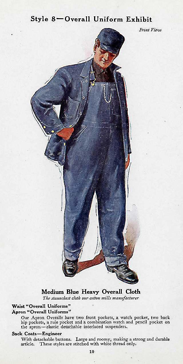 Denim jas, 1925