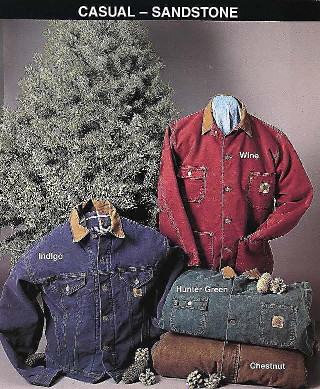 Sandstone Duck jas (rechts), 1992