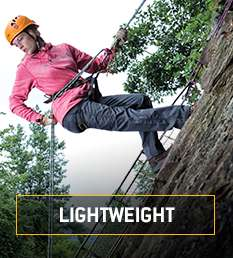 lightweight. Our lightest gear for the longest workdays