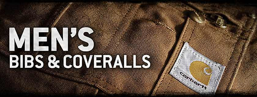 mens bibs and coveralls