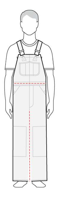 bib overalls model