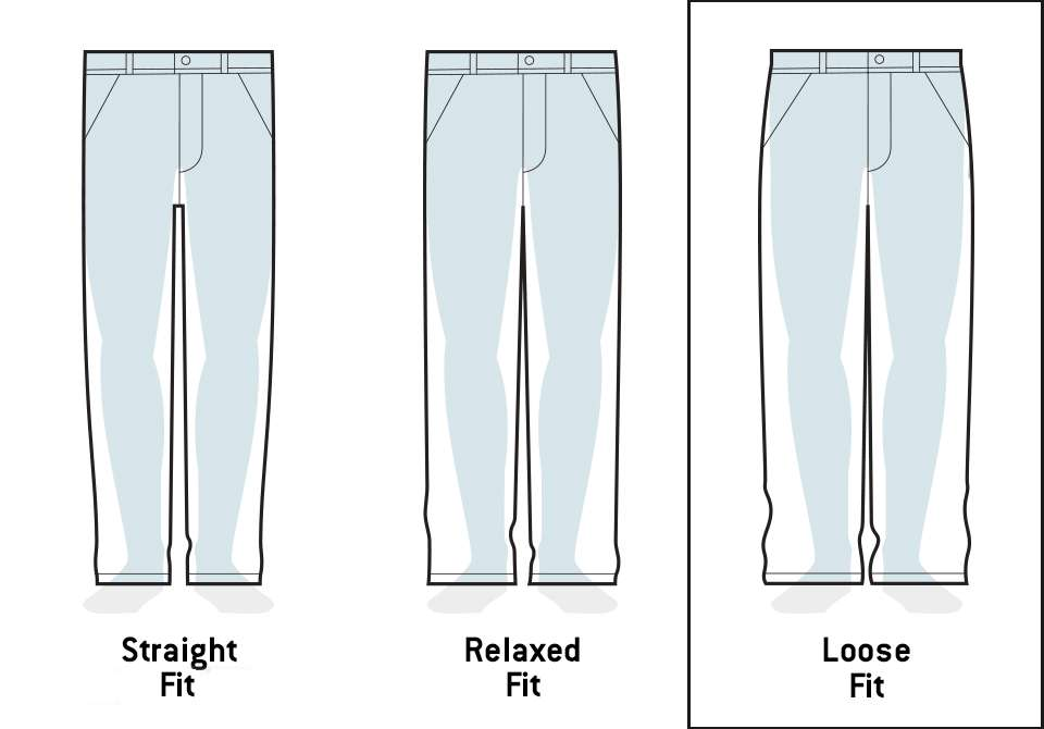 Loose Original Pant Fit Image