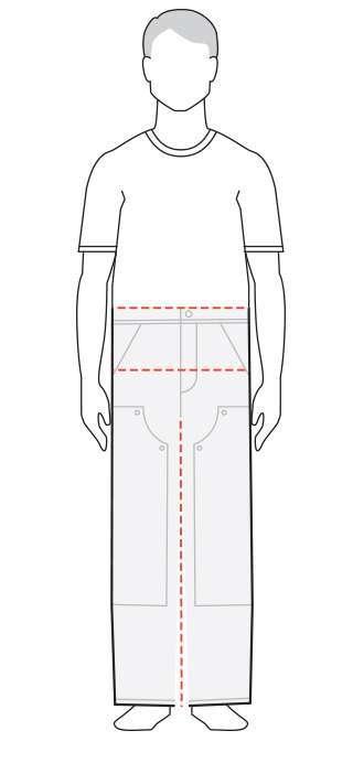 measure women's pants