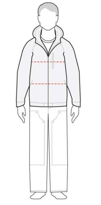 measure men's coat