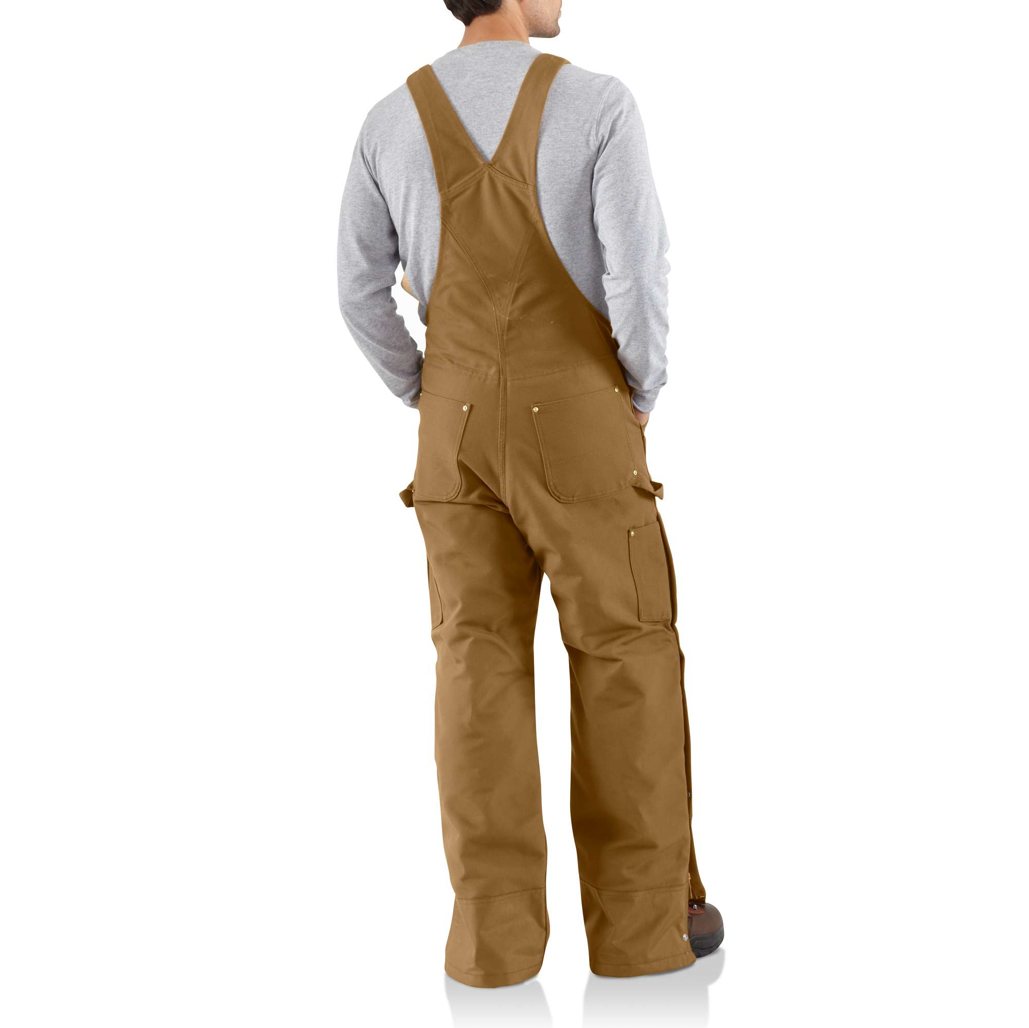 Lined Bibs & Coveralls | Carhartt : carhartt quilt lined duck bib overalls - Adamdwight.com