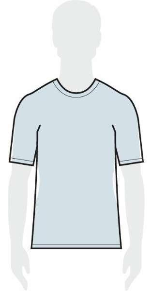 measurements men's relaxed shirt