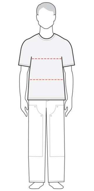 measure men's shirt