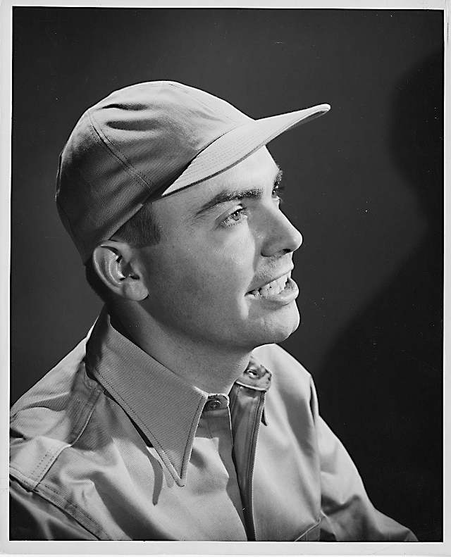 Robert Valade in the Sportster cap, circa 1957