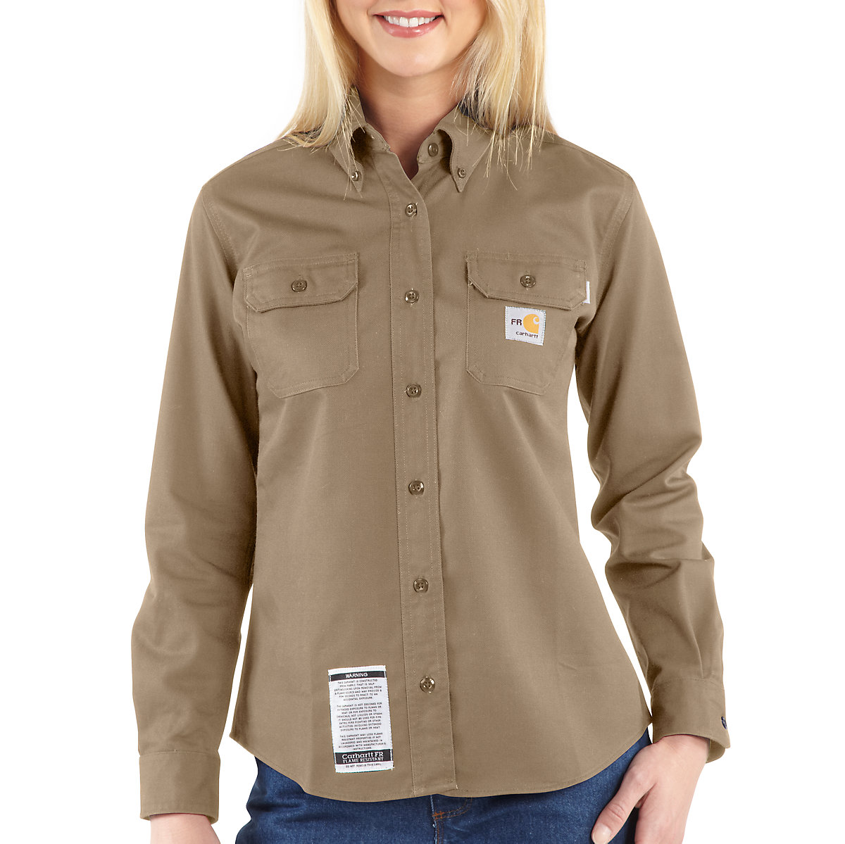 Fire resistant clothing for women